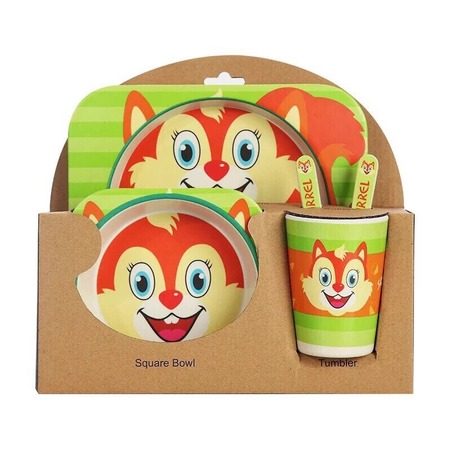 Купить Набор посуды для детей «Лиса»