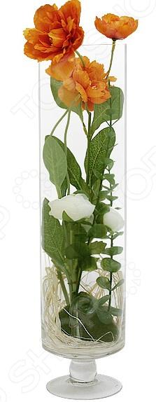 Декоративные цветы Dream Garden «Маки» в вазе