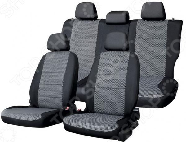 Набор чехлов для сидений Defly Volkswagen Polo, 2010, седан
