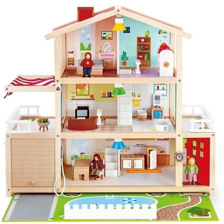 Купить Домик для куклы Hape «Семейный особняк»