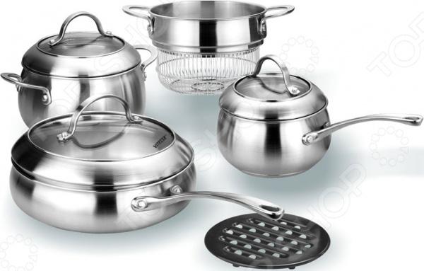 Набор кухонной посуды Vitesse Betty ролевые игры alex набор кухонной посуды из нержавеющей стали все для повара