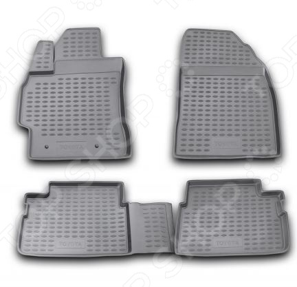 Комплект ковриков в салон автомобиля Novline-Autofamily Toyota Corolla 2007-2013 коврики в салон toyota corolla 01 2007 2013 4 шт полиуретан