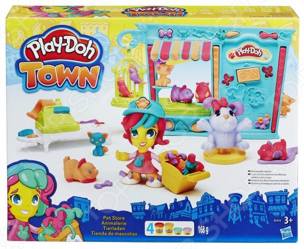 Набор пластилина игровой Hasbro «Магазинчик домашних питомцев»