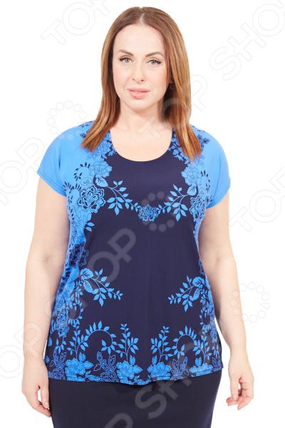 Туника Pretty Woman «Лепестки». Цвет: синий