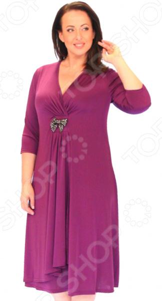 Платье Svesta «Адель Шампанская». Цвет: лиловый