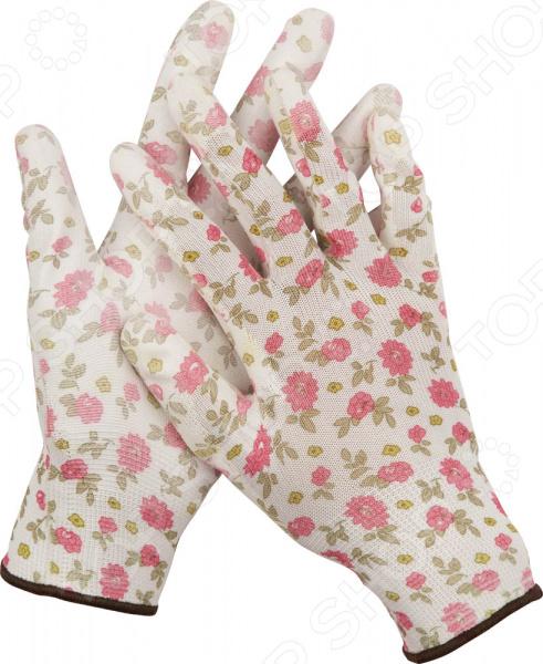 цена на Перчатки садовые Grinda 11291
