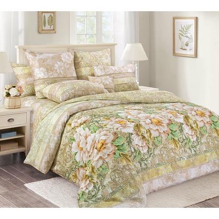 Купить Комплект постельного белья Королевское Искушение «Анжелика». Тип ткани: сатин. Евро