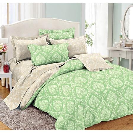 Комплект постельного белья Cleo 002-PE. Евро