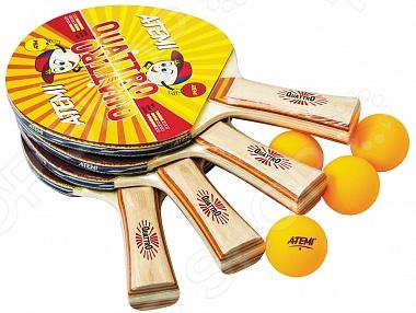 Набор для настольного тенниса ATEMI Quattro