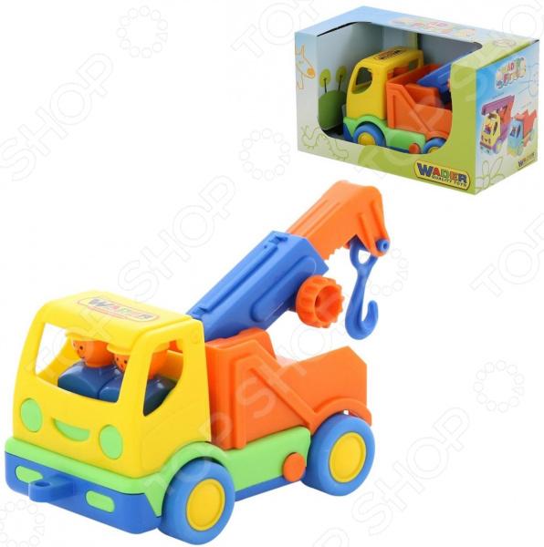 Машинка игрушечная Wader «Мой первый грузовик. Эвакуатор» автомобиль с цистерной полесье мой первый грузовик в сеточке 5441
