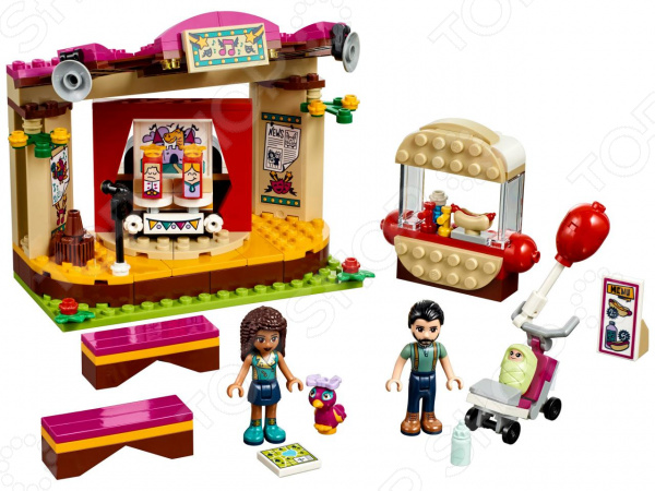 Конструктор игровой LEGO 41334 Friends «Сцена Андреа в парке» конструктор lego friends 41334 сцена андреа в парке
