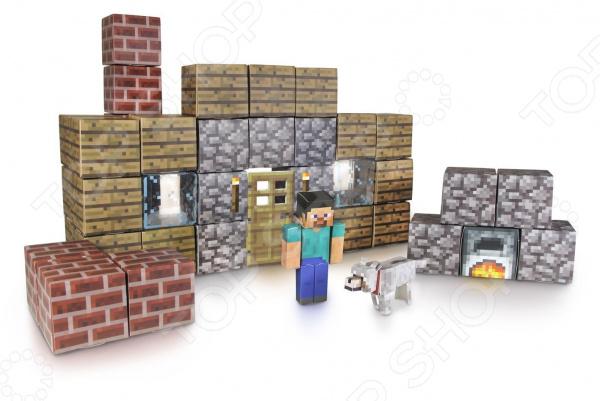 Конструктор бумажный Minecraft «Убежище»
