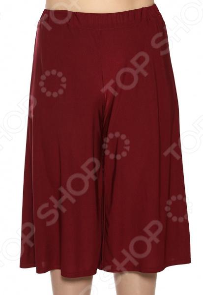 Юбка-шорты Лауме-Лайн «Солнечный отпуск». Цвет: бордовый
