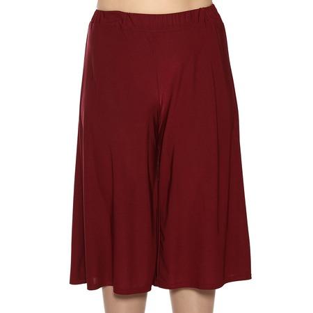 Купить Юбка-шорты Лауме-Лайн «Солнечный отпуск». Цвет: бордовый
