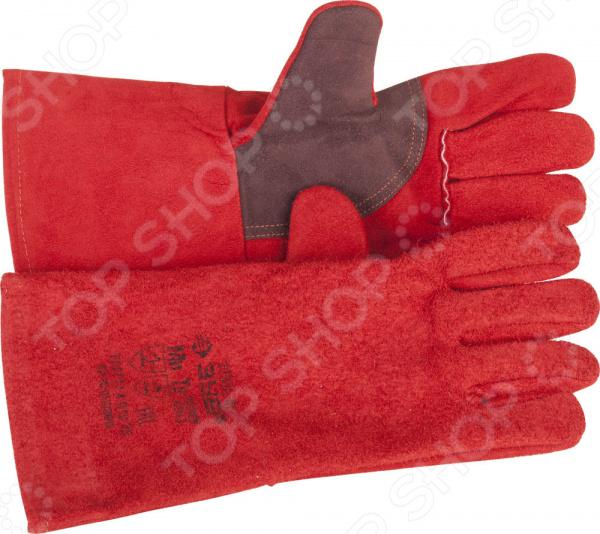 Краги термостойкие для сварки и тяжелых механических работ Зубр «Мастер» 11334-XL