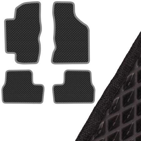 Купить Комплект из 4-х ковриков в салон автомобиля с левым рулем SKYWAY ВАЗ-2190 Lada Granta (2012)