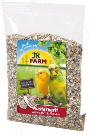 Песок устричный для волнистых попугаев и канареек JR Farm Austerngrit цена