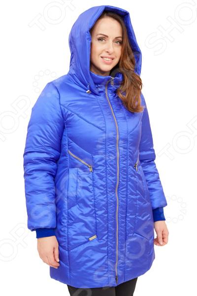 Куртка D`imma «Пилар». Цвет: васильковый