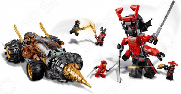 Конструктор игровой LEGO 70669 Ninjago «Земляной бур Коула» конструктор lego земляной бур коула 70669 ninjago legacy