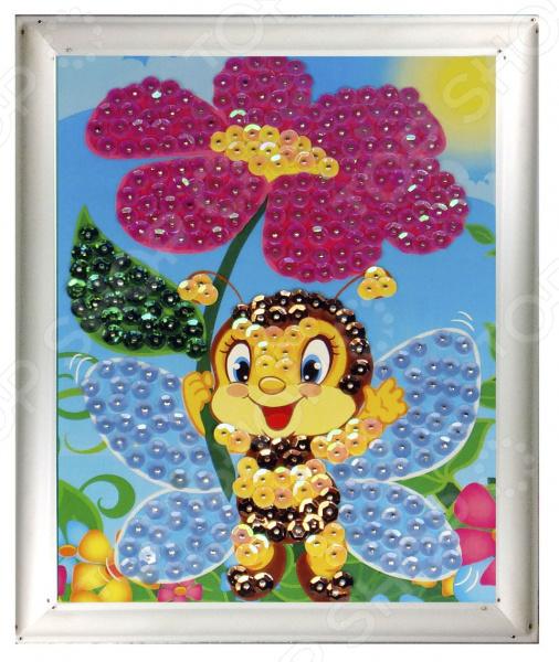 купить Мозаика из пайеток Азбука тойс «Пчёлка» по цене 339 рублей