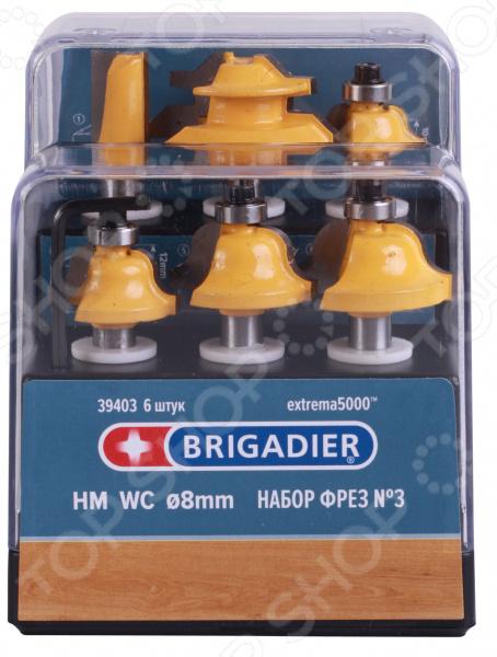 Набор фрез Brigadier 39403