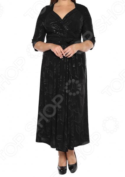 Платье VEAS «Модный показ». Цвет: черный