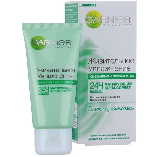 фото Крем для лица Garnier Skin Naturals Живительное увлажнение
