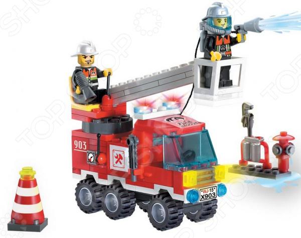 Конструктор игровой Brick «Пожарная охрана» 1717082 охрана и сигнализация