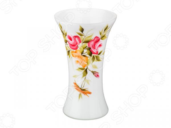 Ваза декоративная «Роза опал» 354-1079