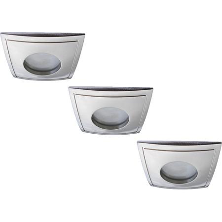 Купить Светильник встраиваемый для ванной Arte Lamp Aqua A5444PL-3SS