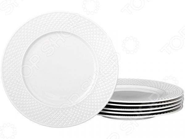 Набор десертных тарелок Lefard «Диаманд» 359-374 менажница lefard диаманд голд 359 325