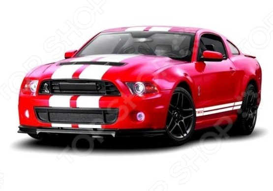 Машина на радиоуправлении Rastar Ford Shelby GT500 свитшот print bar ford mustang shelby gt500 [шредер]