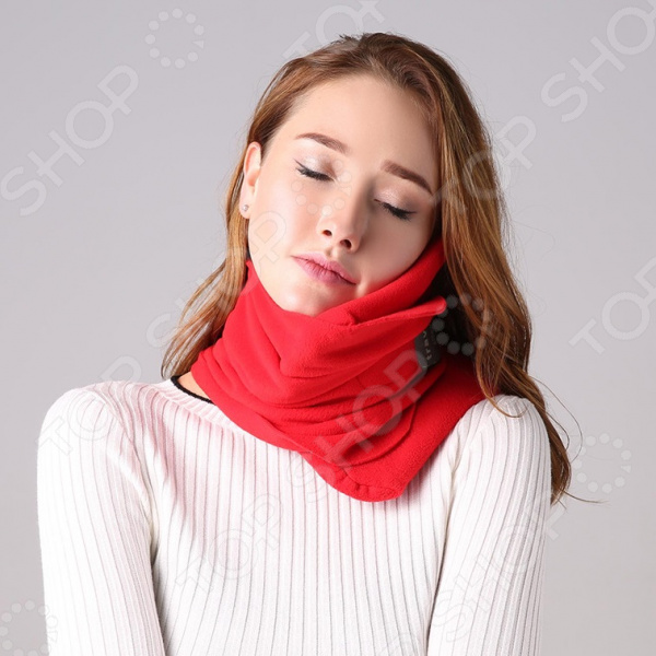Подушка-шарф для путешествий Travel Pillow Unisex