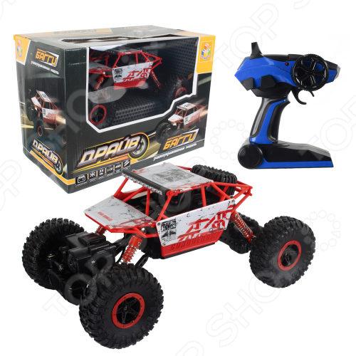 Машинка на радиоуправлении 1 Toy Buggy Big Wheel big машинка bobby car rot