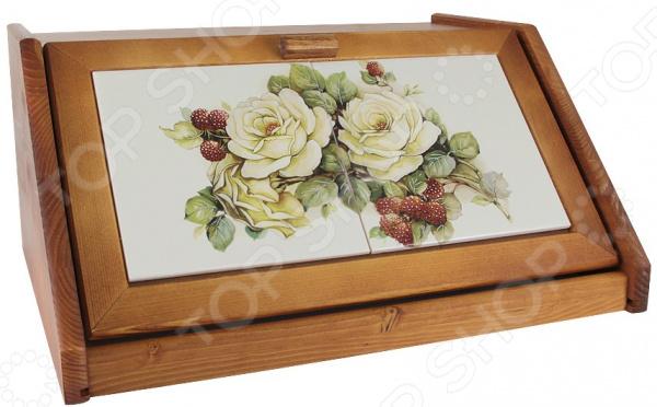 Хлебница LCS «Роза и малина»