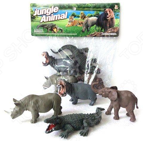 все цены на Набор фигурок Shantou Gepai Y149-1 Jungle animal