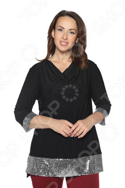 Блуза VEAS «Самаркандская царица». Цвет: черный