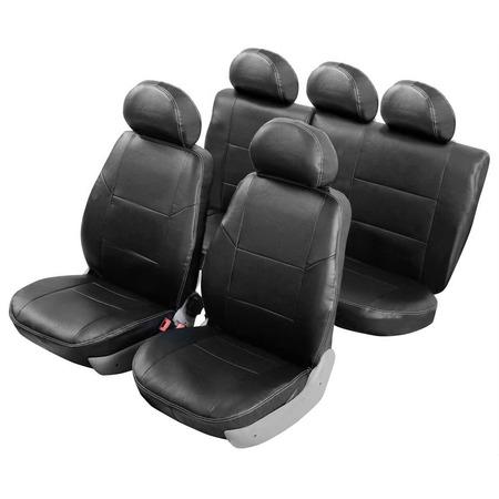 Купить Набор чехлов для сидений Senator Atlant Hyundai Solaris 2010-2017 седан, слитный задний ряд