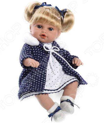Кукла интерактивная Arias Elegance с соской в пальто кукла интерактивная arias т58639