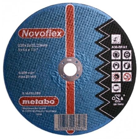 Купить Диск отрезной по стали Metabo SP-Novoflex