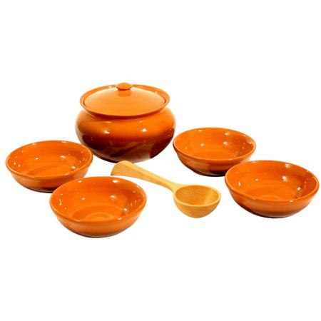 Купить Набор: горшочек и миски Вятская керамика