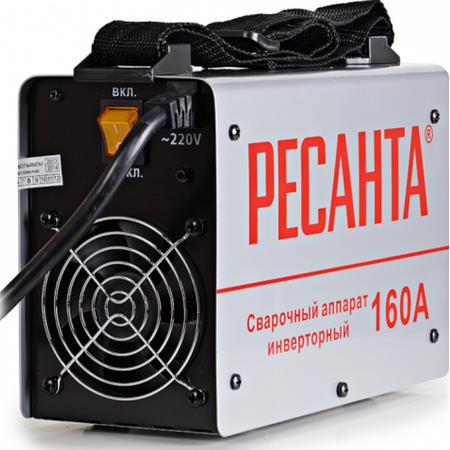 Купить Сварочный аппарат инверторный Ресанта САИ 160. В ассортименте