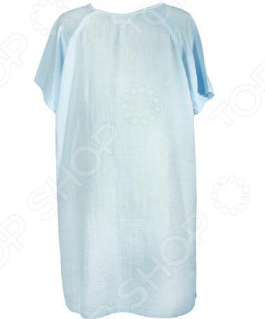 Платье домашнее Dream Time HD-8002. Цвет: голубой