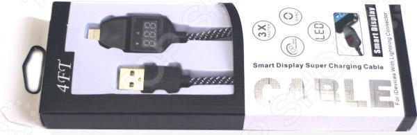 Кабель для зарядки и передачи данных с USB на Lightning 31 ВЕК OT-2586 orico из orico apple телефон зарядный кабель линии передачи данных кабель питания 1 метр kevlar плетеный красный iphone8 x 7 plus ipad air mini лтк 10
