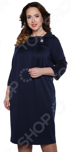 Платье Лауме-Лайн «Сладкая жизнь». Цвет: темно-синий