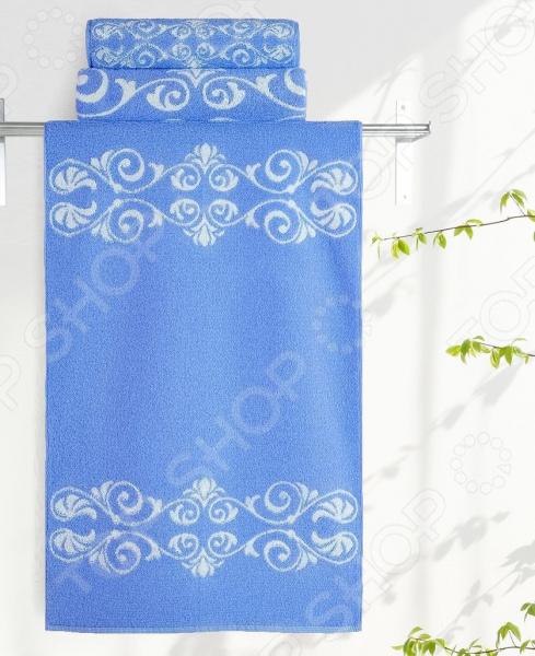 Полотенце махровое Aquarelle «Шарлиз» полотенце махр aquarelle шарлиз 70х140см синее