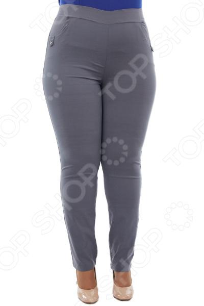 Брюки LORICCI «Сиена». Цвет: серый брюки loricci аскольд цвет капучино