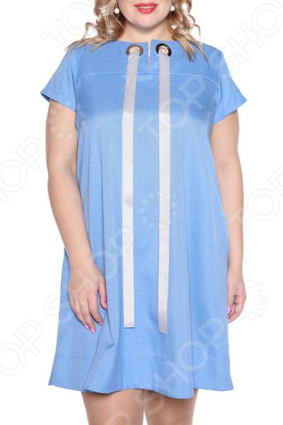 Платье Prima Linea «Ямайка». Цвет: голубой