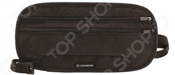 Портмоне на пояс Victorinox Deluxe с защитой от сканирования RFID Портмоне на пояс Victorinox Deluxe с защитой от сканирования RFID /Черный