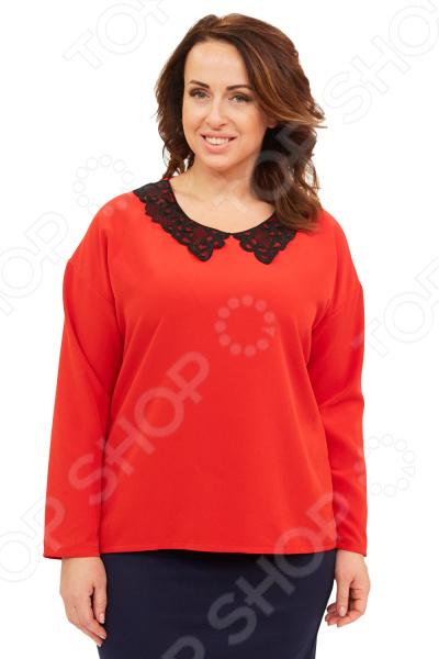 Блуза Элеганс «Стефани». Цвет: красный нейтральный цвет в интерьере стефани хоппен